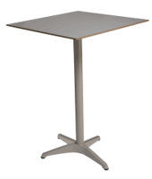 Table bistro carrée 80x80 GROFILLEX