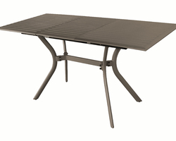 Table Seville 100% Alu 160/240x80 Oceo