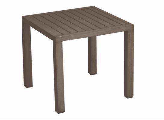 Table basse 40x40 Lou café