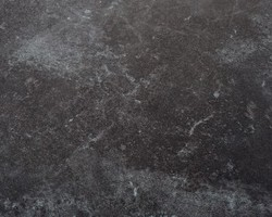 Table tekura 214/305x100 teck/HPL ardoise 8 à 12 convives