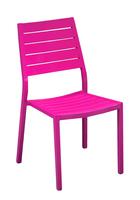 Chaise aluminium Latin 4 couleurs Oceo