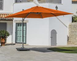 parasol déporté Alu 3x3