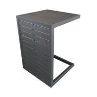 Table Lou Side 2 positions 100% aluminium