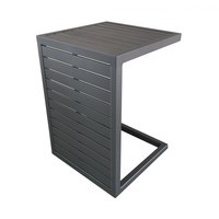 Table Lou Side 2 positions 100% aluminium