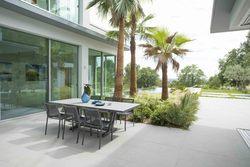 Table extensible AMAKA 200/300x105cm Alu+HPL