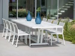 Table extensible AMAKA 170/230x90cm Alu/HPL