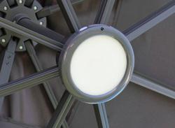 Luminaire LED pour parasol déporté
