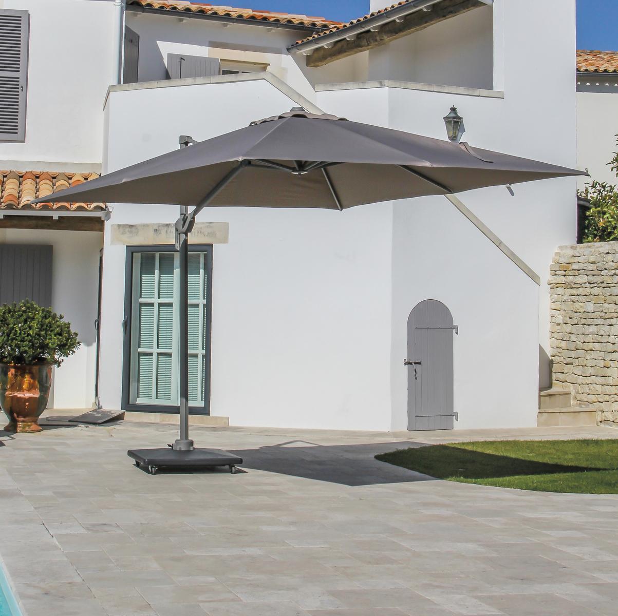 parasol déporté 3x3