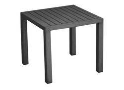 Table basse 40x40 Lou grise