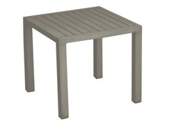 Table basse 40x40 Lou taupe